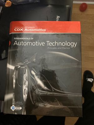 Fundamentals of automotive technology textbook for Sale in Hialeah, FL