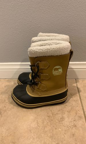 Sorel Waterproof Kids Boots, Size 2 for Sale in Temecula, CA
