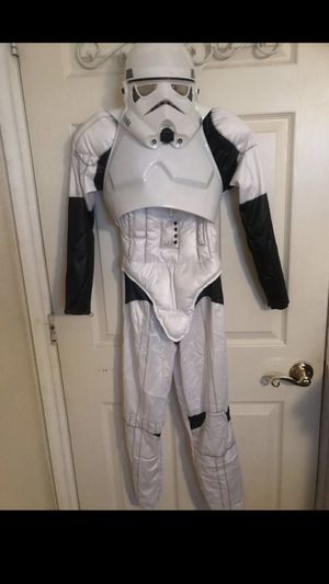 Storm trooper costume size 7/8 (5-6 yrs) for Sale in North Las Vegas, NV