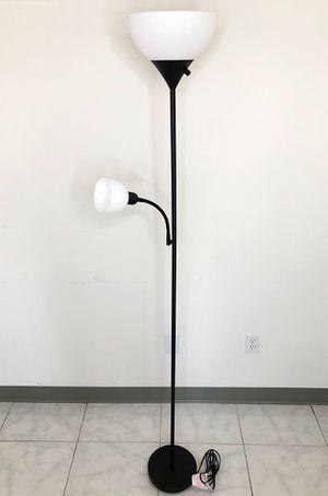 Brand New $25 LED 2-Light Floor Lamp 6ft Tall w/ Adjustable Tilt Light Fixtures Home Living Room Office for Sale in Downey, CA