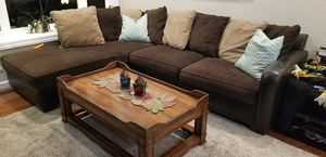 Couch / sectional sofa and Coffee Table for Sale in Walnut Creek, CA