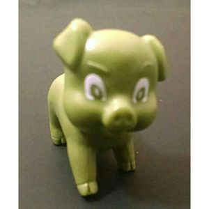 RARE TEEN TITANS BEAST BOY PIG TOY FIGURE TEEN TITANS GO ACTION FIGURE COLLECTIBLE ANIMAL for Sale in North Chesterfield, VA