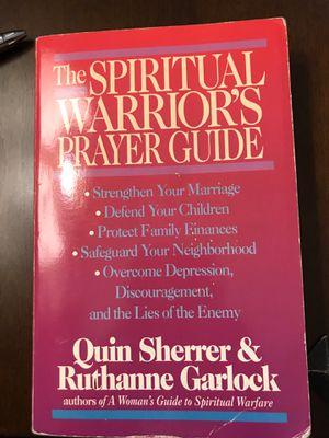 The Spiritual Warriors Prayer Guide for Sale in Covina, CA