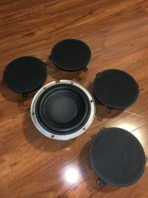 07-2018 Jeep Wrangler stock speakers and Subwoofer. for Sale in SeaTac, WA
