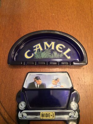 Camel brand collector ashtrays for Sale in Wenatchee, WA