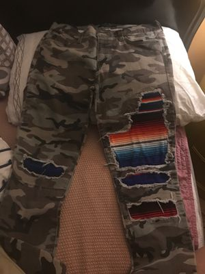Brand new size 13 teens camo pants for Sale in Pflugerville, TX