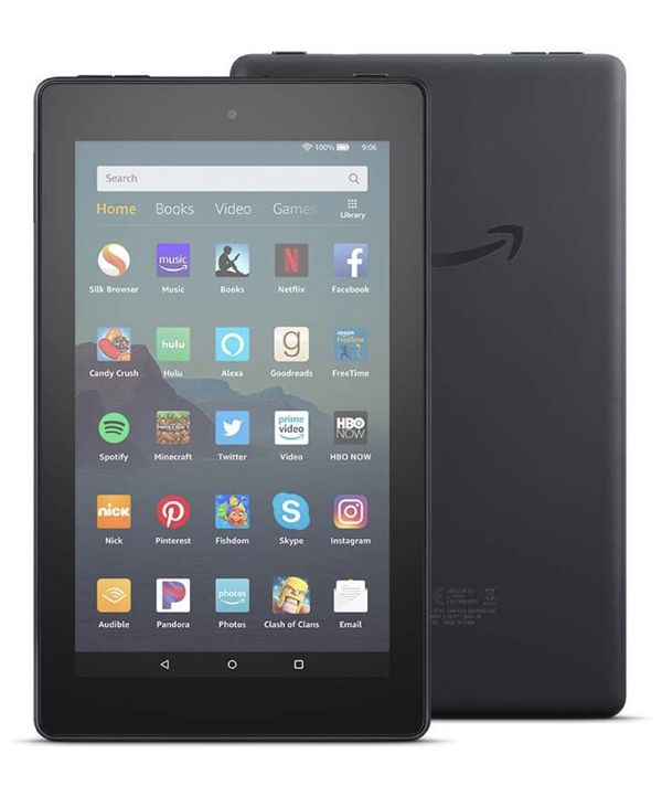Fire 7 Tablet - Amazon new, black