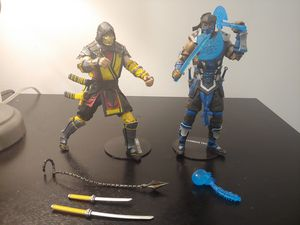 Mortal Kombat XI Series Scorpion and Sub-Zero 7-Inch Action Figure by McFarlane Toys for Sale in Miami, FL