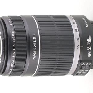 Canon EF-S 55-250mm F/4-5.6 IS Telephoto Zoom Lens for Sale in Culver City, CA