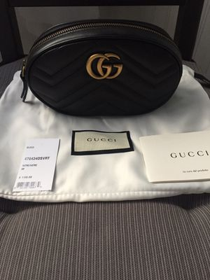 Gucci Black Leather Belt Bag for Sale in Tracy, CA