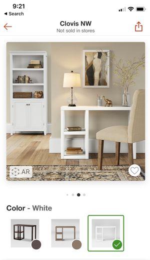 White console table desk vanity for Sale in Clovis, CA