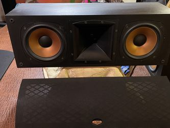 KLIPSCH RC3 II BLACK CENTER CHANNEL for Sale in South Holland,  IL