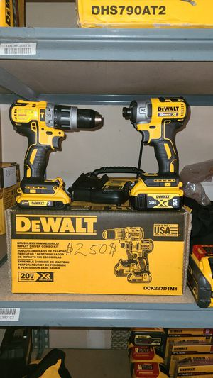 Dewalt xr combo 250$ firm prices no lower buyer for Sale in Torrance, CA