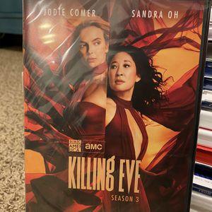 Killing Eve Season 3 DVD for Sale in Cerritos, CA
