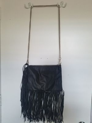 Leather fringe chain purse for Sale in Tampa, FL