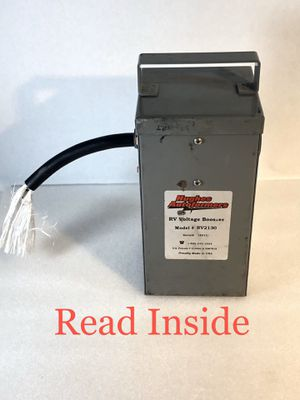 Hughes Autoformer RV2130 30 Amp Voltage Booster for Sale in San Antonio, TX