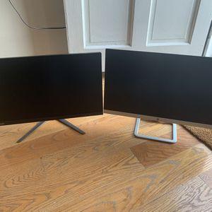"""24"""" Monitors! HP 23es, Lenovo L2364A for Sale in Alexandria, VA"""