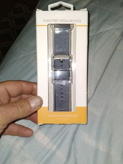 New Woven nylon Band For Fitbit Watches Blue for Sale in Fort Myers,  FL