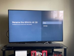 "4K Sony 55"" xbr for Sale in Sunnyvale, CA"