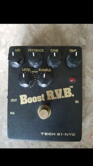 Tech 21 Boost Reverb for Sale in El Paso, TX