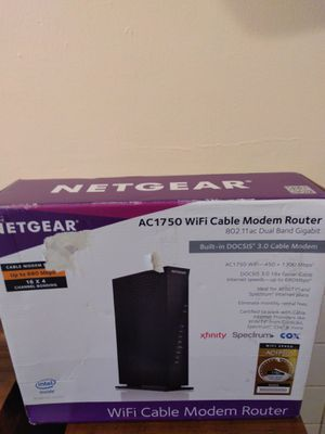 Netgear wifi modem and router. for Sale in St. Louis, MO