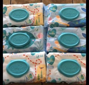 Pampers wipes $10 for Sale in Fontana, CA