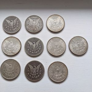 Morgan Silver Dollars - Lot of 10 for Sale in Lisle, IL