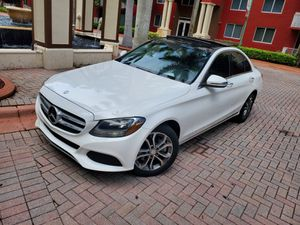 2017 MERCEDES-BENZ C300 PANORAMIC ROOF 4MATIC for Sale in Miami, FL