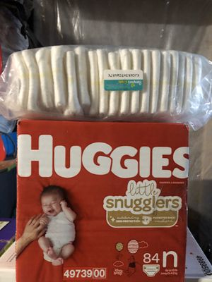 Newborn diapers for Sale in Fontana, CA