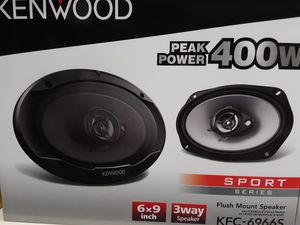 New kenwood 6×9 3 way 400 watts car speakers for Sale in South Gate, CA