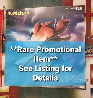 Pokemon Black & White Pre-Order Exclusive One-Sided Keldeo Poster for Sale in Chesilhurst, NJ
