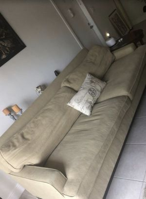 COUCH WITH ARM REST CHAIR for Sale in Miami, FL