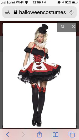 Sexy Queen of Hearts Halloween costume for Sale in Tampa, FL