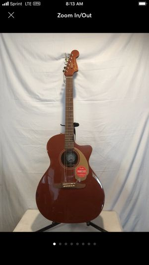 Fender acoustic electric guitar for Sale in Pomona, CA