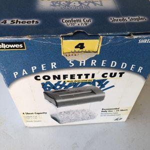 conffetti cut paper shredder for Sale in Fontana, CA