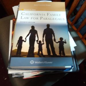 California Family Law For Paralegals 7th Edition for Sale in Reedley, CA