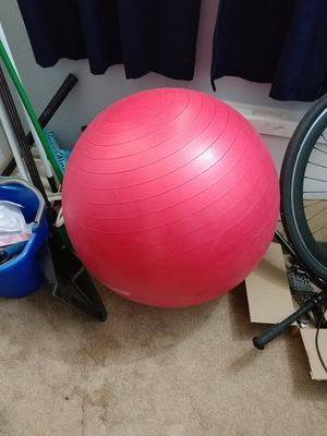 FREE His and her fitness balls and posters for Sale in Elk Grove, CA