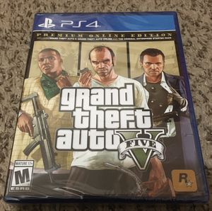 GTA 5 Premium Edition Brand New Sealed for Sale in Parma, OH