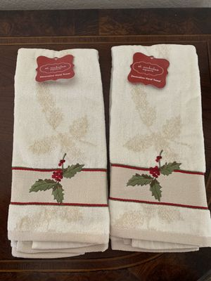 Christmas / Holiday Decorative Hand Towels - New for Sale in Los Angeles, CA