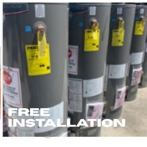 New rheem performance platinum water heaters 40, 50, 75 gallons available! Free delivery, free Installation and free haul away of old one! for Sale in San Diego, CA