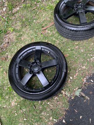 19 inch rims and Pirelles Tires OBO for Sale in Belleville, IL