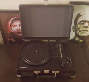 Black Record Player (open box) for Sale in Chandler, AZ