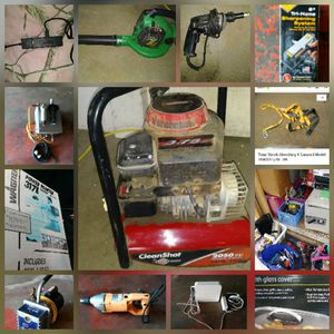 Pressure Washer,Reversible Drill,Drywall Drill,Apple Wifi Routers,Leaf Blower,Hvac Pump for Sale in Columbia, TN