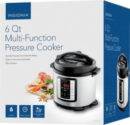 Insignia™ - 6qt Multi-Function Pressure Cooker - Stainless Steel for Sale in Bellevue,  WA