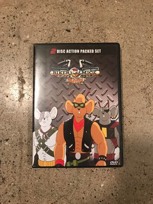 BIKER MICE FROM MARS DVD 2 DISC SET 90'S CARTOON RARE for Sale in West Covina, CA