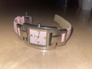 Tommy Hilfiger beautiful light pink watch for Sale in Queens, NY