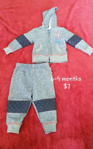 6-9 months, baby clothes, baby set, baby sweat suit for Sale in US
