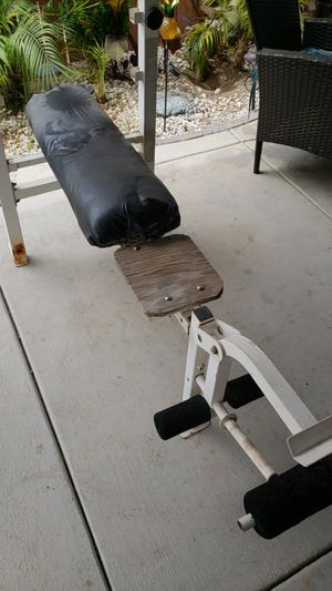 Weight bench. for Sale in Bakersfield, CA