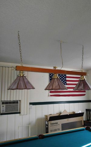 Pool/billiards light for Sale in West Palm Beach, FL