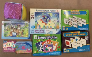 Games and puzzles including ravensburger brand for Sale in Chandler, AZ